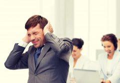 Lärm im Büro reduzieren