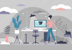 Home Office: So richten Sie den perfekten Arbeitsplatz zuhause ein